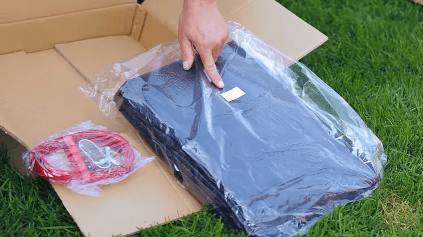 Pool Cover Unboxing