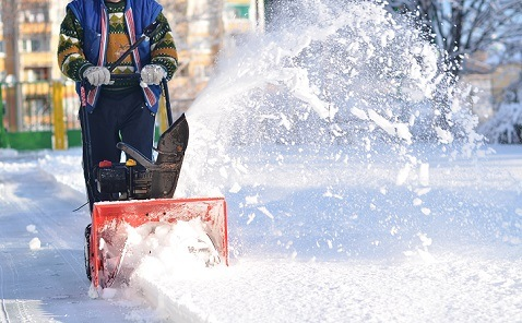 snow blower stages